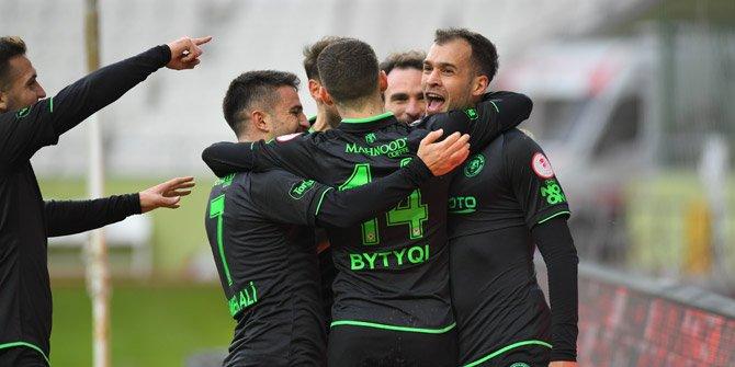 Konyaspor 3 galibiyetle çeyrek finalde