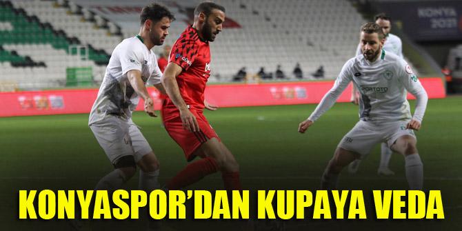 Konyaspor kupaya penaltılarda veda etti