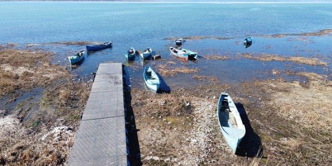 Beyşehir Gölü kıyılarında kısıtlama sessizliği