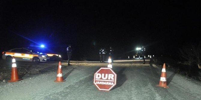 Karaman'da bir köy Kovid-19 nedeniyle karantinaya alındı