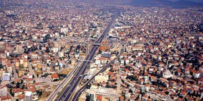 Konya'nın ilçesinde 235 metrekare arsa çıktı