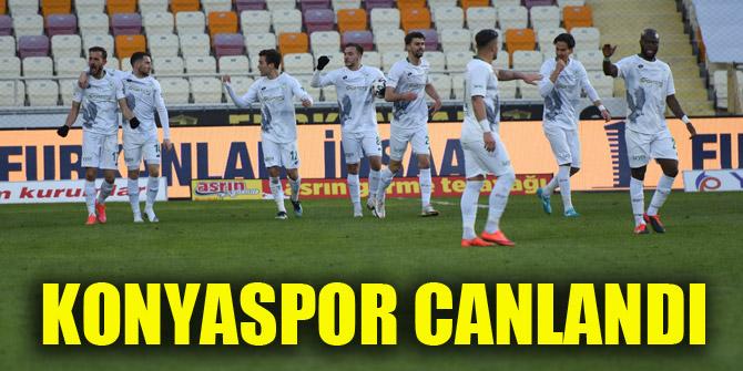 Konyaspor canlandı