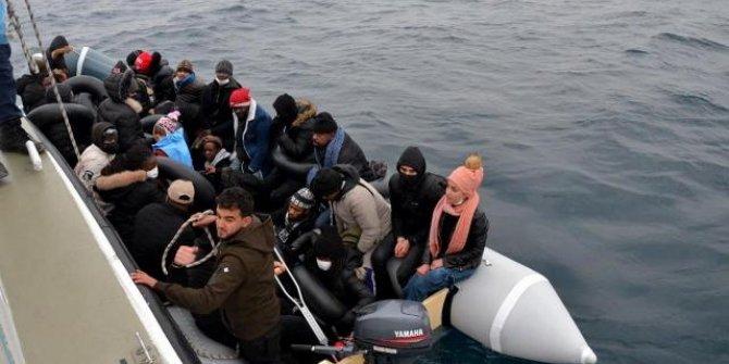 31 düzensiz göçmen kurtarıldı