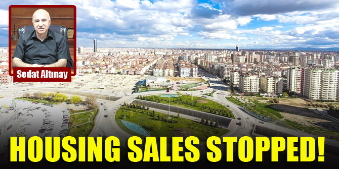 Housing sales stopped!