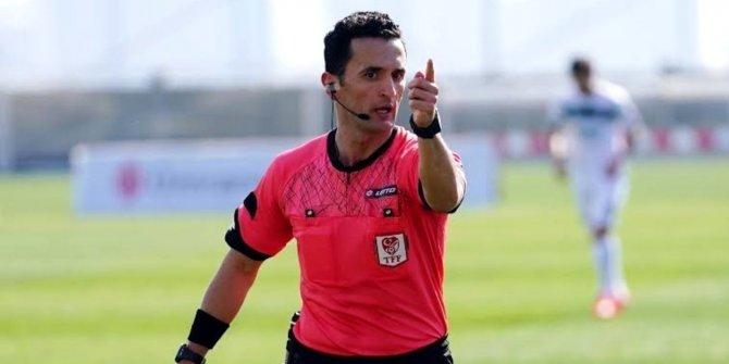 Konyaspor - Gaziantep FK maçının hakemi Erkan Özdamar