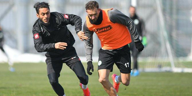 Cikalleshi: Konyaspor her zaman ligde daha iyi yerlerde olmayı hak eden bir kulüp