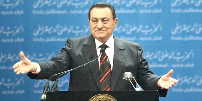 A year has passed since death of Egyptian dictator Hosni Mubarak