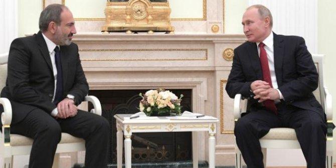Putin ve Paşinyan Ermenistan'ı görüştü