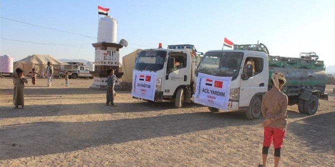 Turkish charity helps 800 families in Yemen