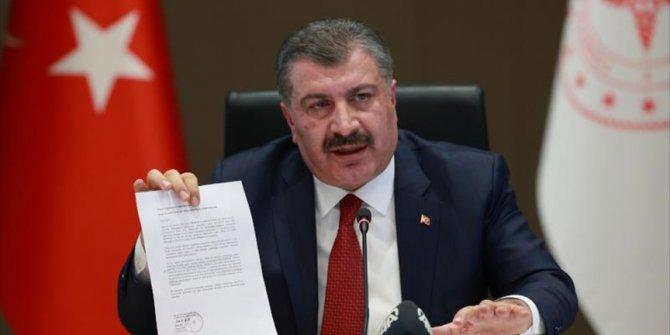 'There is no mutated virus originated in Turkey'