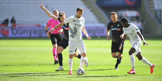Konyaspor evinde 4 maçtır yenilmiyor