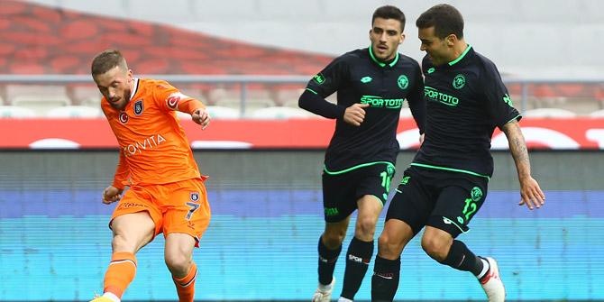 Konyaspor'un Başakşehir ile 21. randevusu