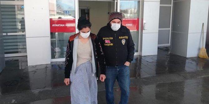 Hırsızlık şüphelisi kadının 24 sabıkası daha çıktı