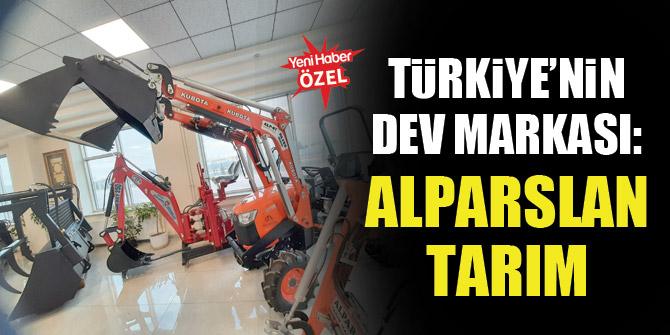 Türkiye'nin dev markası: Alparslan Tarım