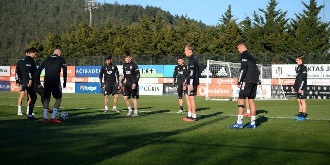 Beşiktaş, Gaziantep FK maçı hazırlıklarını tamamladı