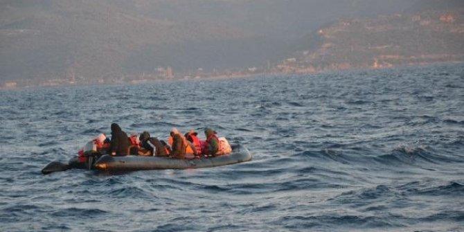 Yunanistan'ın Türk kara sularına ittiği 69 sığınmacı kurtarıldı