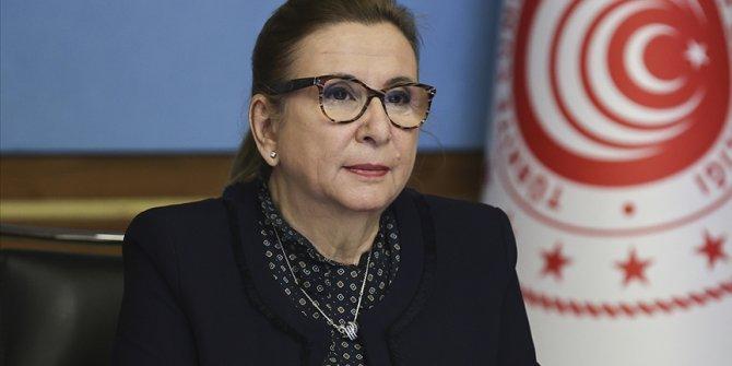Bakan Pekcan: Kadına şiddet insanlığa ihanettir