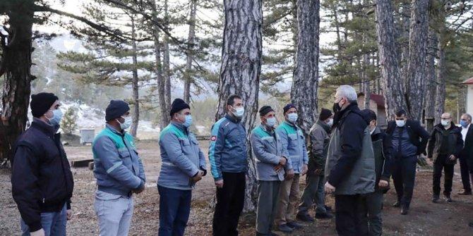 Orman Genel Müdürü Bekir Karacabey Beyşehir'de