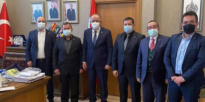 MHP Kulu İlçe Yönetimi, Genel Başkan Yardımcısı Mustafa Kalaycı'yı ziyaret etti