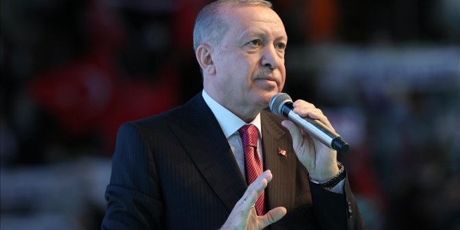 Turkish president vows to better women's status