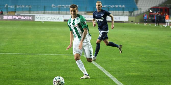 Konyaspor'da Guilherme formasına kavuşuyor