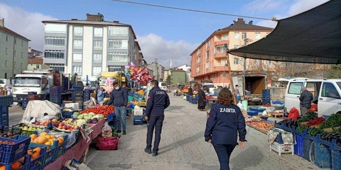 Seydişehir'de salgınla mücadelede denetim faaliyetleri sürüyor
