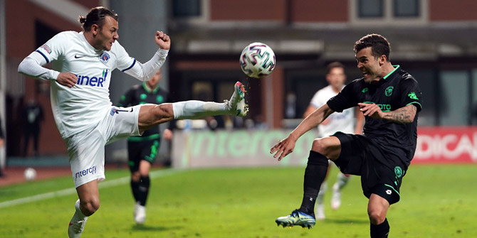 Konyaspor'da Guilherme formasına kavuştu