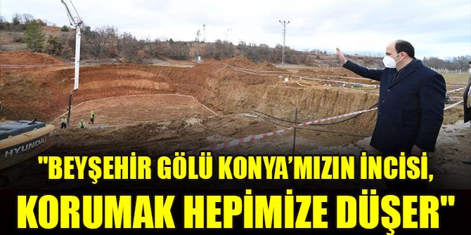 """Başkan Altay: """"Beyşehir Gölü Konya'mızın incisi, korumak hepimize düşer"""""""