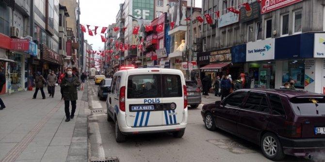 Polis ekiplerden korona virüs anonsu