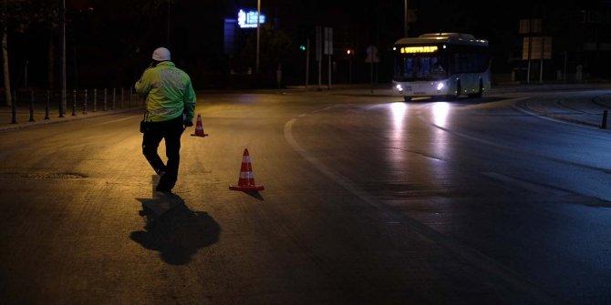 32 saat sürecek sokağa çıkma kısıtlaması başladı