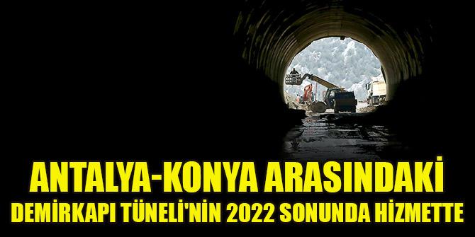Konya-Antalya arasındaki en kısa geçiş tamamlanıyor