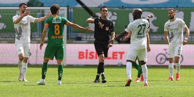 Konyaspor'da Diomande ve Amar cezalı duruma düştü
