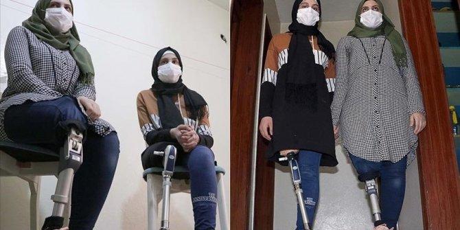 Turkey: Prostheses enable Syrian sisters to enjoy life
