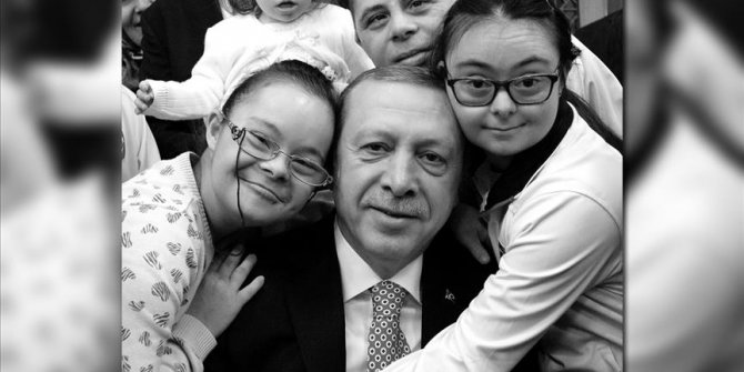 Turkish president marks World Down Syndrome Day