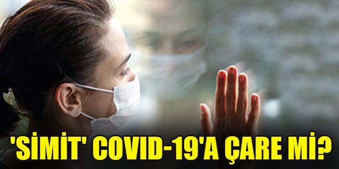 'Simit' COVID-19'a çare mi?