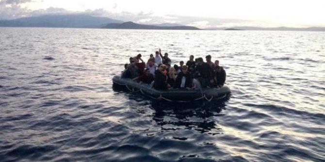 48 düzensiz göçmen kurtarıldı
