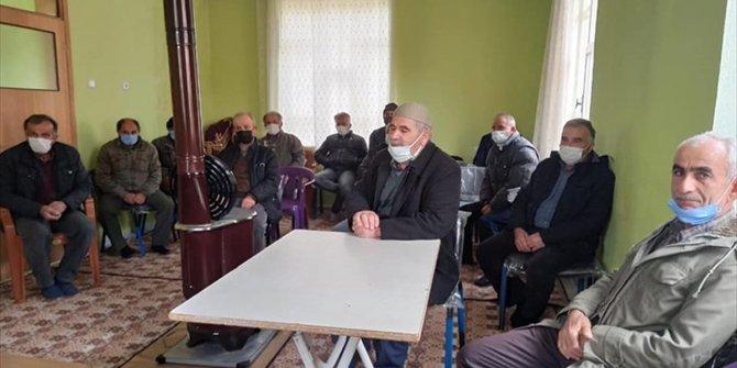 Seydişehir Kaymakamı Erdoğan bazı vatandaşlarla bir araya geldi