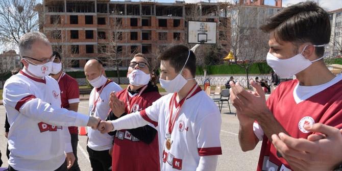 "KTÜN'de ""Down Futsal"" etkinliği düzenlendi"