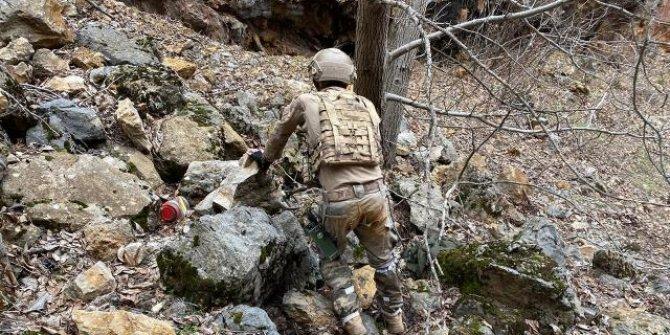 Teröristlerin kırsaldaki inlerine operasyon
