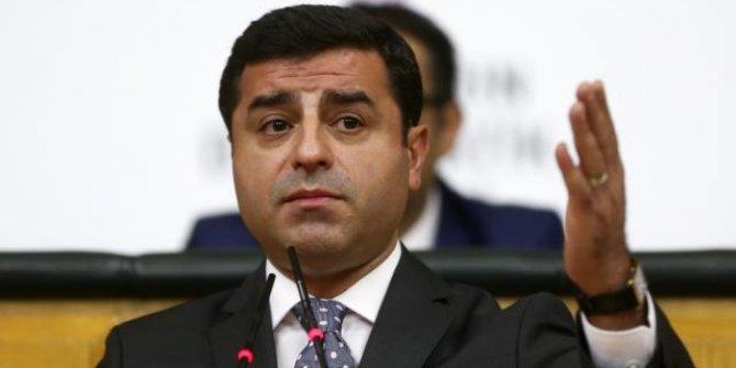 Selahattin Demirtaş'a Cumhurbaşkanına hakaret suçundan hapis
