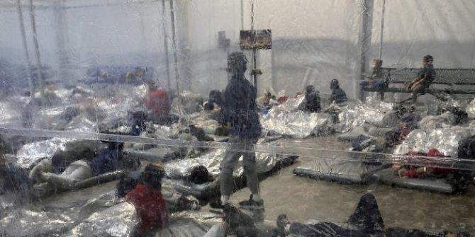 ABD'de 'göçmen çocuk' krizi: Sağlıksız koşullarda yaşıyorlar