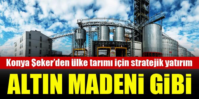 Konya Şeker'den ülke tarımı için stratejik yatırım
