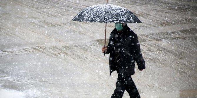 Yurt genelinde kar yağışı etkili olacak