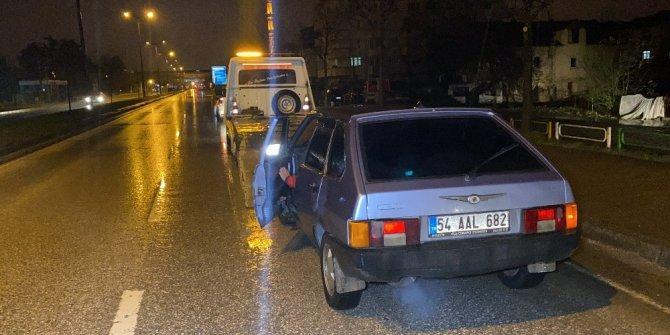 Kaçmaya çalışan sürücüye aracının değeri kadar ceza kesildi