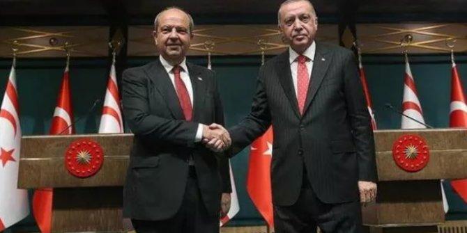 Ersin Tatar'dan Cumhurbaşkanı Erdoğan'a tebrik