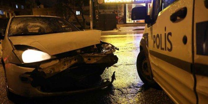 Hırsızlık şüphelisi polislere ateş açtı: 1'i polis 2 yaralı