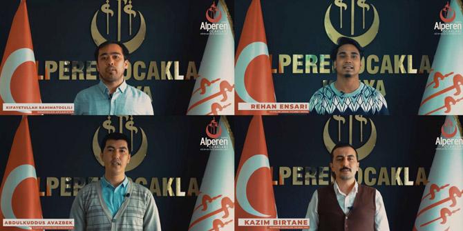 Uluslararası öğrenciler Muhsin Yazıcıoğlu'nu andı