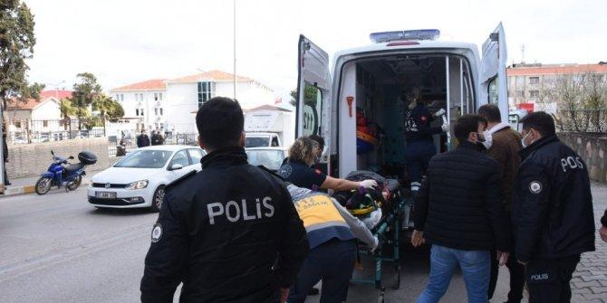 Balkondan düşen 2 çocuk annesi kadın hayatını kaybetti