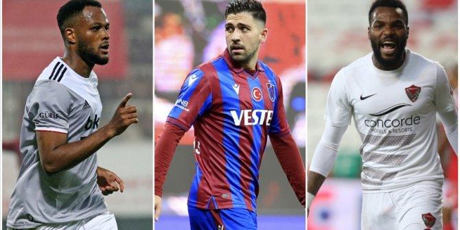 Süper Lig'in golcüleri, milli takımlarda da boş geçmedi