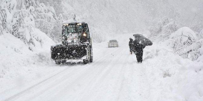 Yoğun kar uyarısı: 40 santimetreyi bulabilir